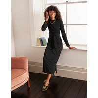 Cara Midi Dress Black Women Boden, Black