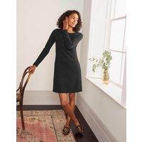 Boden Ingrid Jacquard Shift Dress Black Women Boden, Black