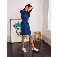 Ingrid Jacquard Shift Dress Blue Depths Women Boden, Blue Depths