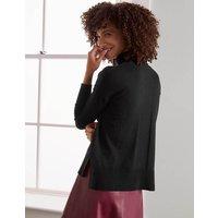 Chaldon Stitch Detail Jumper Black Women Boden, Black