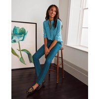 Richmond 7/8 Trousers Rich Teal Women Boden, Rich Teal