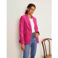 Boden Davies Cord Blazer Pink Women Boden, Pink