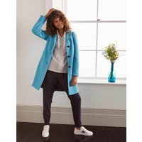 Knight Coat Lomond Blue Women Boden, Lomond Blue