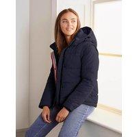 Thompson Puffer Jacket Navy Women Boden, Navy