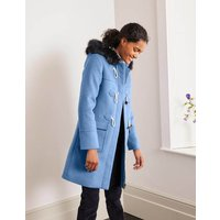 Orme Duffle Coat Frosted Blue Women Boden, Frosted Blue