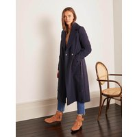 Edale Belted Coat Navy Women Boden, Navy