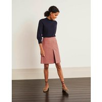 Auria Moleskin Skirt Pink Women Boden, Pink