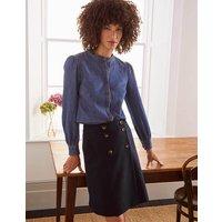 Eloise Mini Skirt Navy Women Boden, Navy