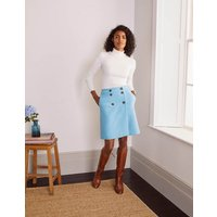 Eloise Mini Skirt Frosted Blue Women Boden, Frosted Blue