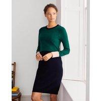 Boden Frederica Knitted Dress Green Christmas Boden, Green