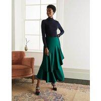 Elizabeth Wrap Skirt Green Women Boden, Green