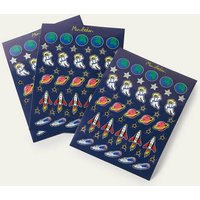 Novelty Stickers College Navy Space Boden, College Navy Space
