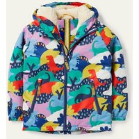 Cosy Sherpa-lined Anorak Multi Boys Boden, Pink