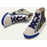 Camo Canvas High Tops Camouflage Boys Boden, Camouflage