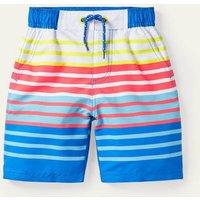 Board Shorts Multi Stripe Boden, Multi Stripe