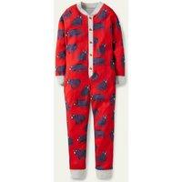 Snug Sleep All-in-one Rockabilly Red Bears Boys Boden, Rockabilly Red Bears