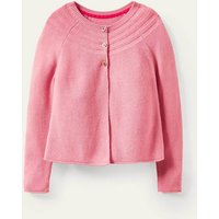 Cotton Cashmere Mix Cardigan Formica Pink Boden, Formica Pink
