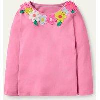 Flutter T-shirt Pink Lemonade Flowers Boden, Pink Lemonade Flowers
