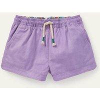 Heart Pocket Shorts Cool Violet Purple Girls Boden, Cool Violet Purple