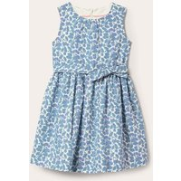 Vintage Dress Ivory Blueberry Boden, Ivory Blueberry