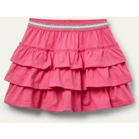 Jersey Ruffle Skort Bright Camellia Pink Boden, Bright Camellia Pink
