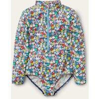 Long-sleeved Swimsuit Multi Boden, Multicouloured