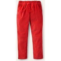 Cord Leggings Strawberry Tart Red Girls Boden, Strawberry Tart Red
