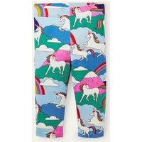 Fun Cropped Leggings Multi Unicorn Mountain Boden, Multi Unicorn Mountain