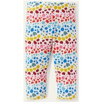 Fun Cropped Leggings Multi Rainbow Leopard Boden, Multi Rainbow Leopard