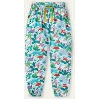 Relaxed Woven Trousers Ivory Darwin Island Boden, Ivory Darwin Island