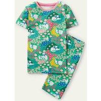 Snug Glow-in-the-dark Pyjamas Multi Patchwork Pets Boden, Multi Patchwork Pets