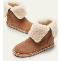 Cosy Suede Boots Tan Brown Christmas Boden, Tan Brown