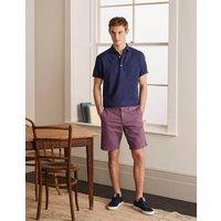 Chino Shorts Purple Men Boden, Purple