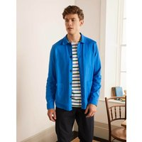 Blyford Jersey Shirt Jacket Blue Men Boden, Blue