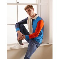 Rugby Shirt Colourblock Boden, Multicouloured