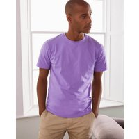 Boden Washed T-shirt Purple Men Boden, Purple