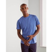 Boden Washed T-shirt Blue Men Boden, Blue