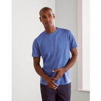 Boden Washed T-shirt Blue Men Boden, Blue