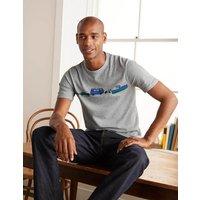 Kingston T-shirt Travel Graphic Men Boden, Travel Graphic