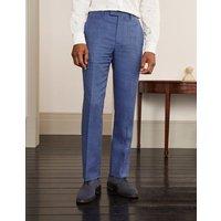 Cavenham Linen Blend Trousers Blues POW Men Boden, Blues POW