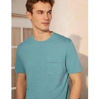 Linen Blend T-shirt Delphinium Boden, Delphinium