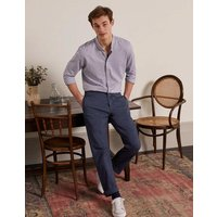 Elasticated Chino Trousers Navy Men Boden, Navy