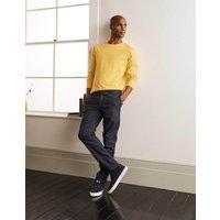 Classic Long-sleeved T-shirt Sunbleach Yellow Men Boden, Sunbleach Yellow
