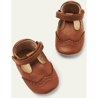 Leather Baby Shoes Tan Baby Boden, Tan