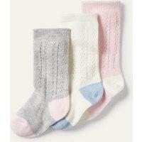 Socken mit lochstickerei im 3er-pack MUL Baby Boden, MUL