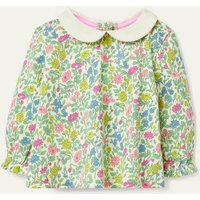 Floral Collared T-shirt Multi Baby Boden, Multicouloured