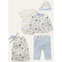 Organic Pets 4 Piece Gift Set Ivory Baby Boden, Ivory