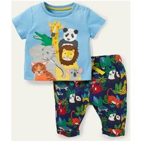 Fun Jersey Play Set Starboard Blue Jungle Baby Boden, Starboard Blue Jungle