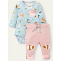 Guinea Pig Body and Leggings Set Floral Pets Baby Boden, Floral Pets