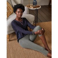 Favourite Cropped Leggings Charcoal Women Boden, Charcoal